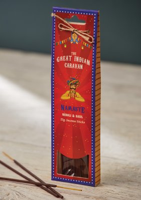 The Great Indian Caravan -suitsuke, Namaste - Neroli Basil